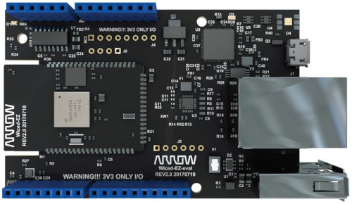 Evaluation Board Arrow QUICKSILVER-EVL for Murata Type 1GC LBWA1UZ1GC